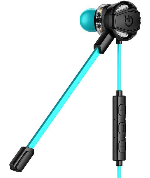 River auricular gaming hiditec taiko - 4*altavoz ø7mm - 16 ohm - sonido dual driv ghe010002 - HID-AUR TAIKO
