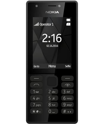 Tel?fono m?vil Nokia 216 black - display 2.4''/6.7cm - c?mara 0.3mpx - dual A00028039
