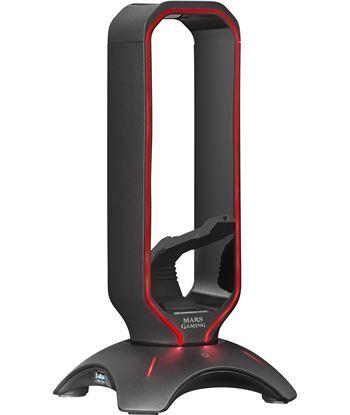 Nuevoelectro.com soporte 3 en 1 mars gaming mhhpro - soporte auriculares+bungee raton+hub us