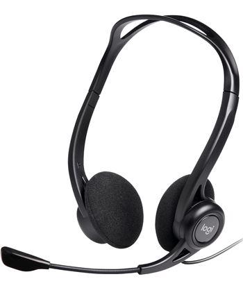 Auriculares diadema con microfono Logitech headset pc 960 usb control volum 981-000100
