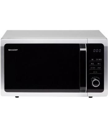 Microondas con grill Sharp R743S - 900/ grill 1000w - 25 litros - 5 niveles