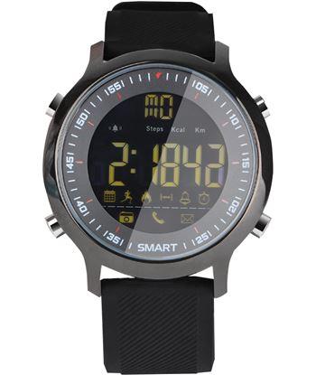 Nuevoelectro.com reloj inteligente leotec hardy life negro - esfera 2.79cm full view retroil lesw11k