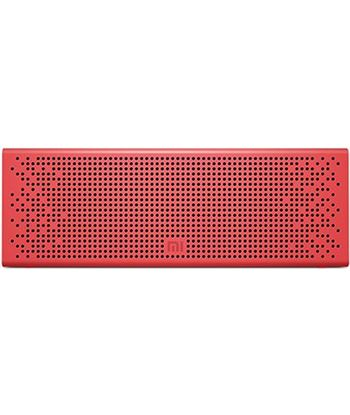 Altavoz bluetooth xiaomi mi speaker red - 2x3w - dRivers 36mm - func. manos QBH4105GL