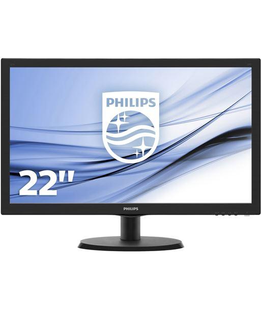 Monitor led Philips v-line 223v5lhsb - 21.5''/ 54.6cm fullhd - 5ms - 10m:1 - 223V5LHSB/00 - PHIL-M 223V5LHSB
