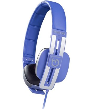 Auriculares diadema Hiditec wave blue - altavoces 40mm - 103db - microfono WHP010003