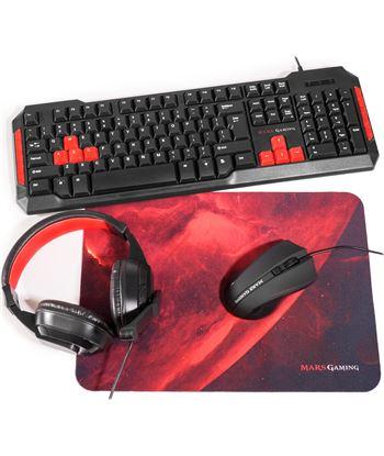 Nuevoelectro.com set mars gaming mrcp1 - teclado 10 teclas función - ratón 2800dpi - alfombr