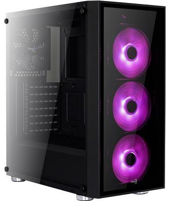 Nuevoelectro.com caja semitorre aerocool quartzrgb - usb 3.0 / 2* usb 2.0 - 3 modos led(req
