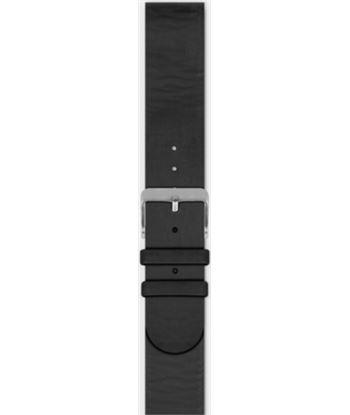 Correa de cuero Spc smartee leather bracelet negro - color mate - hebilla c 960PN
