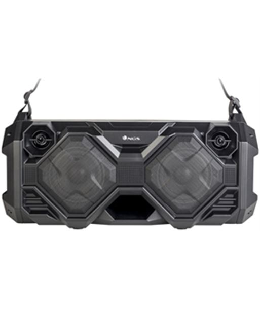 Altavoz portátil Ngs boombox street fusion - 100w - bluetooth - fm - usb/mi STREETFUSION - NGS-ALT STREETFUSION