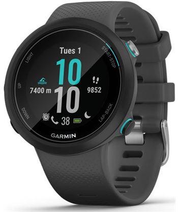 Garmin swim 2 negro con correa gris 42mm smartwatch diseñado para el agua 5 SWIM 2 BLACK GR