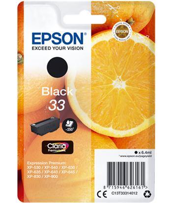 Tinta Epson 33 claria premium negro EPSC13T33314012