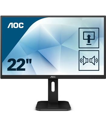 Monitor led multimedia Aoc 22P1D - 21.5''/54.6cm - 1920*1080 full hd - 16:9
