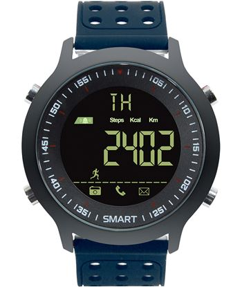 Nuevoelectro.com reloj inteligente leotec hardy life azul - esfera 2.79cm full view retroilu lesw11b