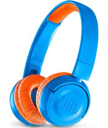 Jbl jr 300 bt azul/naranja auriculares kids on-ear inalámbricos safe-sound JR 300 BT BLUE/