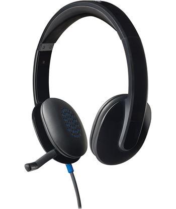 Auriculares diadema con microfono Logitech h540 control volumen en cascos u 981-000480