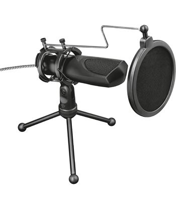 Micrófono usb para streaming Trust gaming gxt 232 mantis - micrófono omnidi 22656 - TRU-MIC 22656