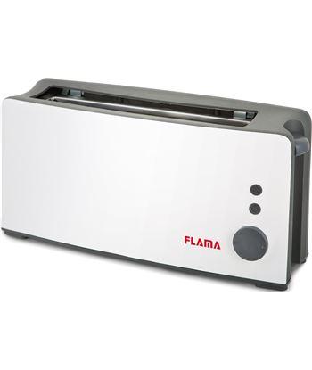 Nuevoelectro.com tostador de pan flama 958fl blanco - 900w - ranura extra ancha - termostato
