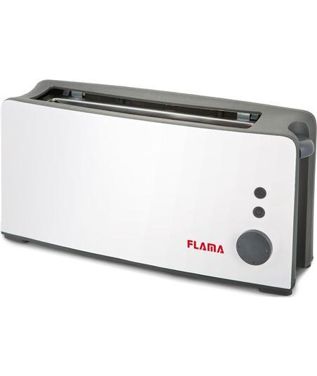 Nuevoelectro.com tostador de pan flama 958fl blanco - 900w - ranura extra ancha - termostato - FLA-PAE-TOS 958FL