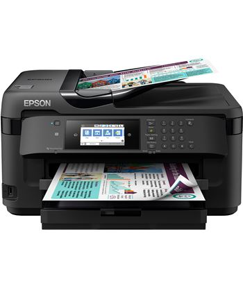 Multifunción Epson wifi con fax workforce wf-7710dwf - a3+ - 32/20 ppm - du C11CG36413