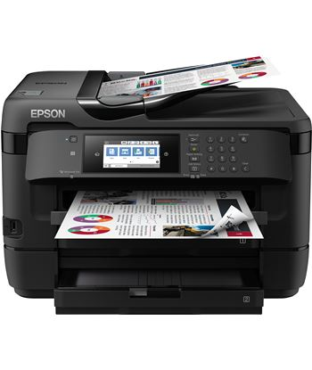 Multifunción Epson wifi con fax workforce wf-7720dtwf - a3+ - 32/20 ppm bor C11CG37412