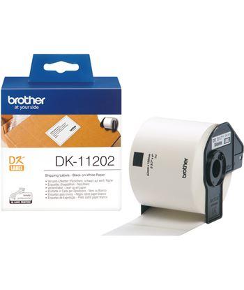 Etiquetas térmicas Brother DK11202 - 62 x 100mm - para 300 etiquetas - col