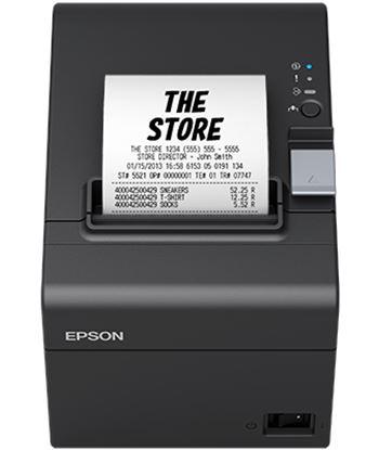 Impresora de tickets térmica Epson tm-t20iii C31CH51011 negra - velocidad 2