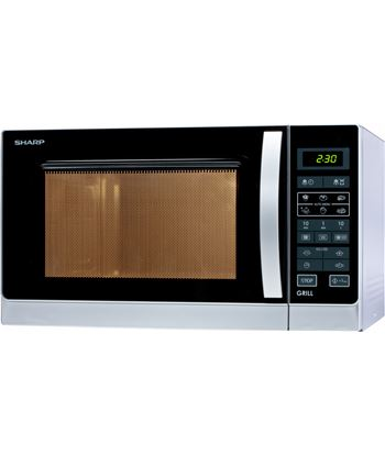 Microondas con grill Sharp R742INW - 900w/1000w grill - 25 litros - control