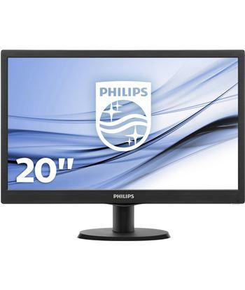 Monitor led Philips 203v5lsb26 19.5'' / 49.5cm 16:9 5ms 200cd/m2 10m:1 negro 203V5LSB26/10