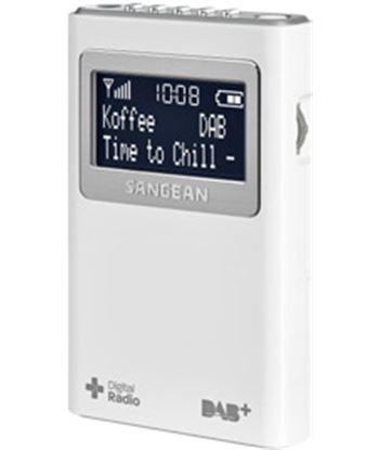 Sangean dpr-39 blanco radio digital bolsillo fm con rds y dab+ pantalla lcd DPR-39 WHITE
