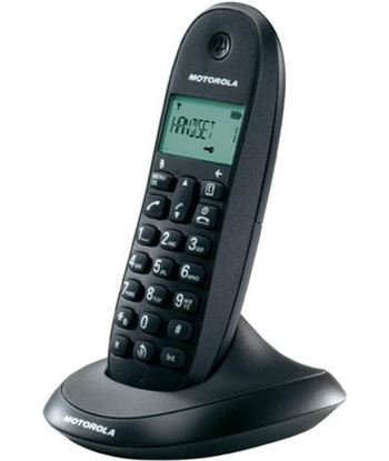 Motorola C1001LB+ NEGRO teléfono inalámbrico con manos libres integrado