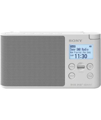 Sony XDR-S41D BLANCO radio dab/dab+ portátil con pantalla lcd presintonías