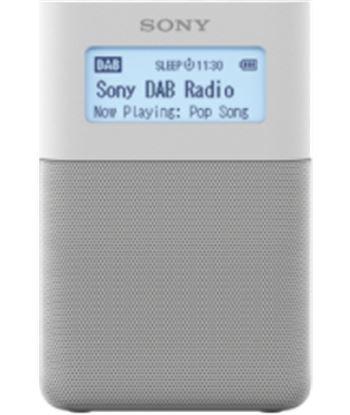 Sony XDR-V20D BLANCO radio dab/dab+ portátil con altavoces incorporados y b
