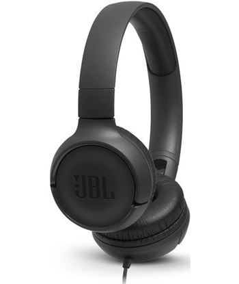Jbl TUNE 500 NEGRO auriculares pure bass cable plano sin enredos