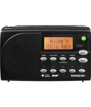 Sangean dpr-65 negro radio digital portátil fm con rds y dab+ pantalla lcd DPR-65 BLACK
