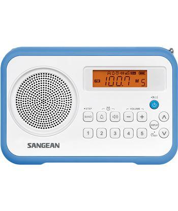 Sangean PRD18 B-A azul blanco radio digital portátil fm am pantalla lcd ala