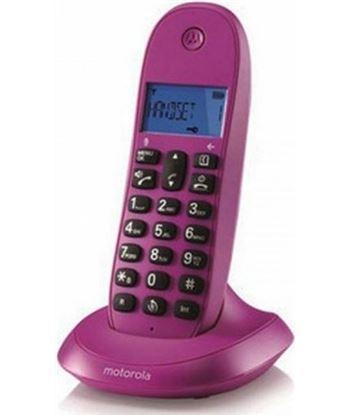 Motorola C1001LB+ VIOLETa teléfono inalámbrico con manos libres integrado
