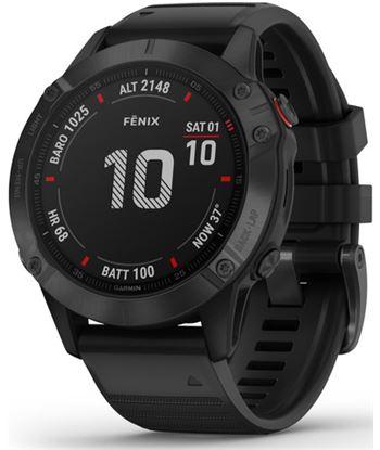 Reloj Garmin fenix 6 pro slate gray w/black band (glass) 010_02158_02 - GAR010_02158_02