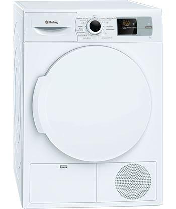 Balay, 3sb286b, secadora, bomba de calor, a+, libre instalación, 60 cm, 8 k