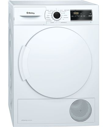 Balay, 3sb985b, secadora, bomba de calor, a++, libre instalación, 60 cm, 8