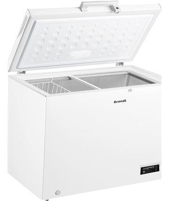Congelador h Brandt BFK747YSW 112cm blanco a+