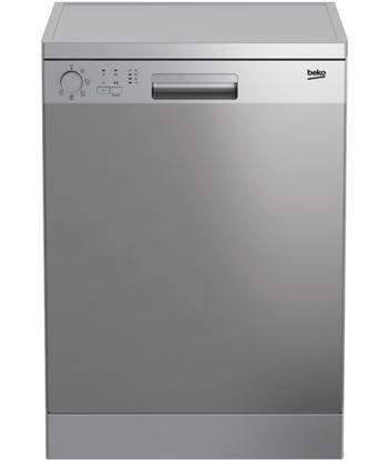 Lavavajillas Beko DFN05321X 13 servicios 5 programas 49 db clase a++ acero