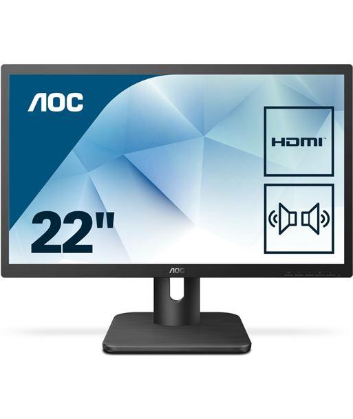 Monitor led multimedia Aoc 22E1D - 21.5''/54.6cm - 1920*1080 full hd - 16:9 - AOC-M 22E1D