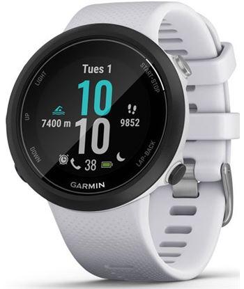 Garmin swim 2 negro con correa blanca piedra 42mm smartwatch diseñado para SWIM 2 WHITESTO