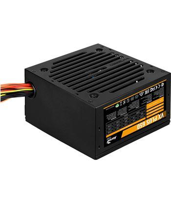 Fuente alimentación Aerocool vx plus 650 - 650w - ventilador 12cm - pci-e 6 VXPLUS650 - AER-FUENTE VXPLUS650