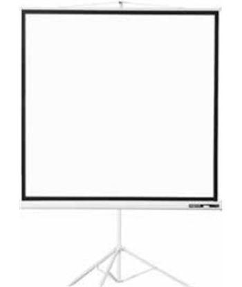 Pantalla de proyeccion tr�pode Approx 180x180 alta calidad tela blanco ma APPP180T
