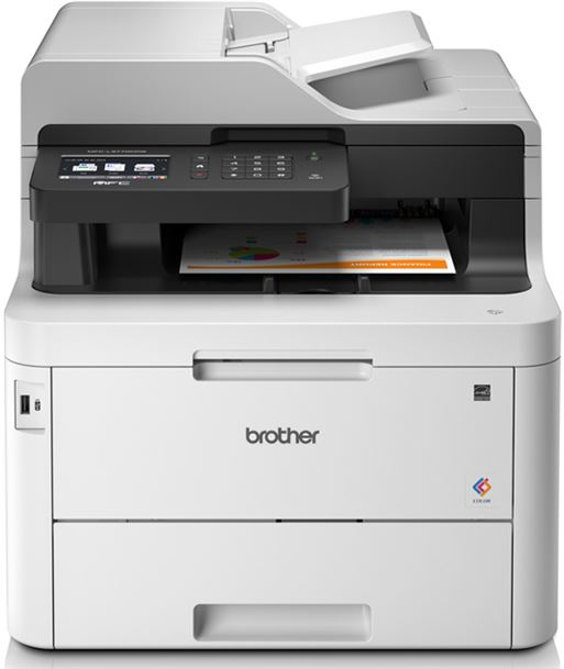 Multifuncion Brother wifi con fax láser led color mfc-l3770cdw - 24/24ppm - MFCL3770CDW - MFCL3770CDW