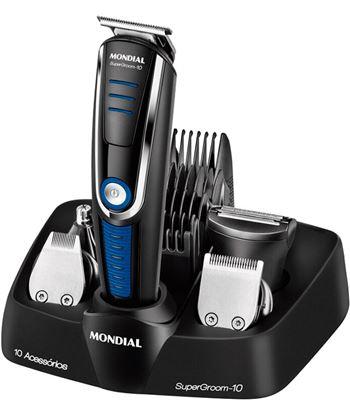 Cortapelos afeitadora Mondial BG04 multi grooming 6 - 4 cabezales - 4 gu�