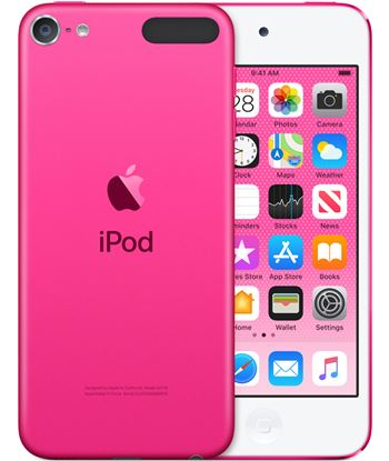 Apple ipod touch 256gb rosa - mvj82py/a mp3, mp4 y mp5