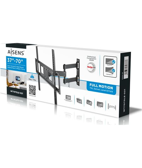 Nuevoelectro.com soporte de pared aisens wt70tsle-021 para pantallas 37-70''/94-177cm - hasta - 70329768_5643390842