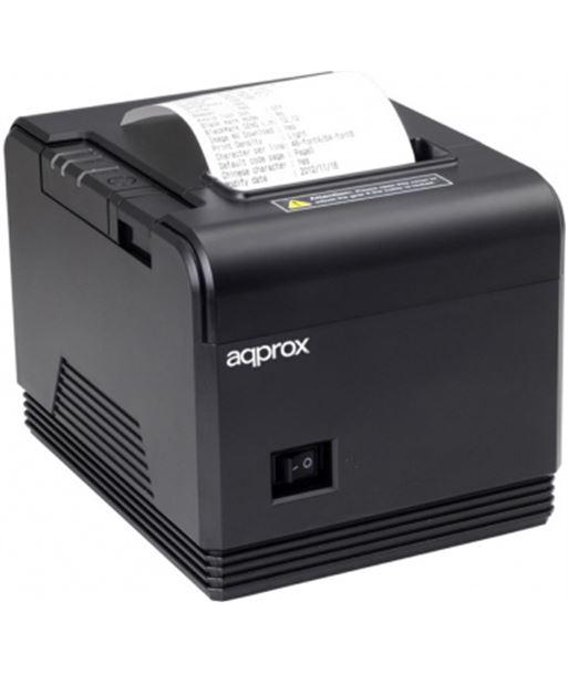 Impresora de tickets térmica Approx APPPOS80AM - 200mm/s - papel 80mm - cor - APPPOS80AM